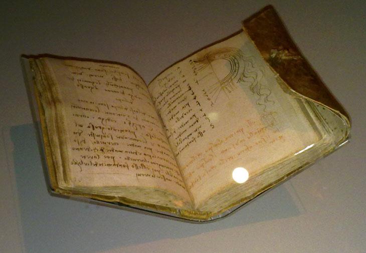 Weird urban myths - Leonardo Da Vinci wrote right to left.