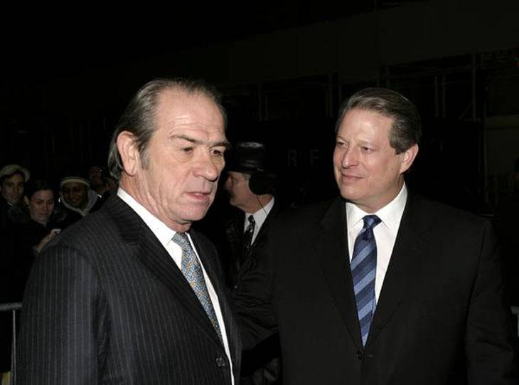 Al Gore and Tommy Lee Jones were roommates at Harvard.