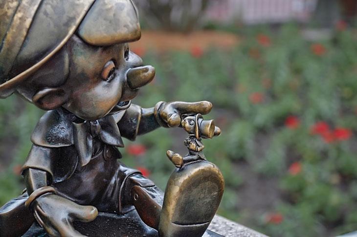 Weird urban myths - Pinocchio is a literal name.