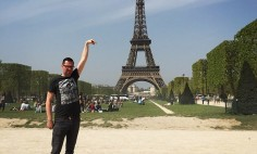 He Asks People To Photoshop Eiffel Tower Under His Finger. The Result? You Won't Stop Laughing!