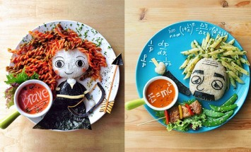 This Mom Does Crazy Things With Food… Now She Is Popular.