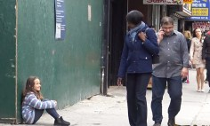 What Would You Do If You Saw A Lost Child On The Street? Looks This. It's Shocking!