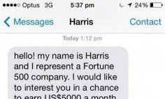 This Guy Tried To Scam Someone Via SMS… But What He Got In Return Is Pure Gold!