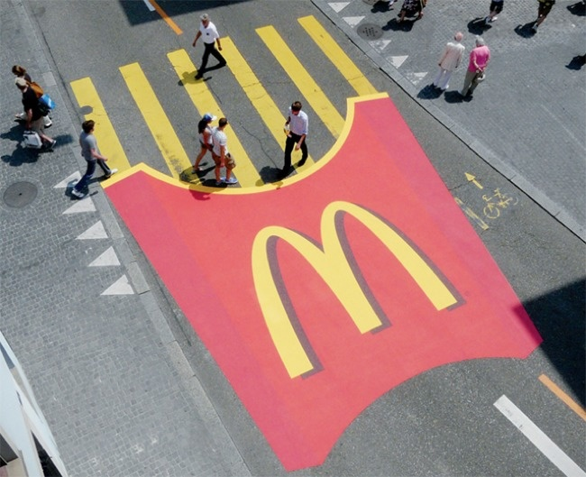 Even if you don't like McDonald's food, you know you'd be thinking of fries.