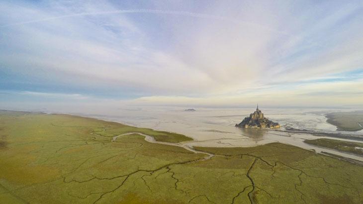 Mont-Saint-Michel.