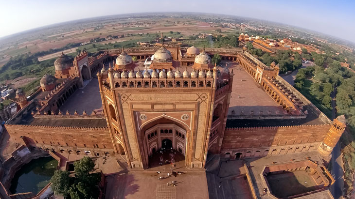 Fatehpur Sikri, India.