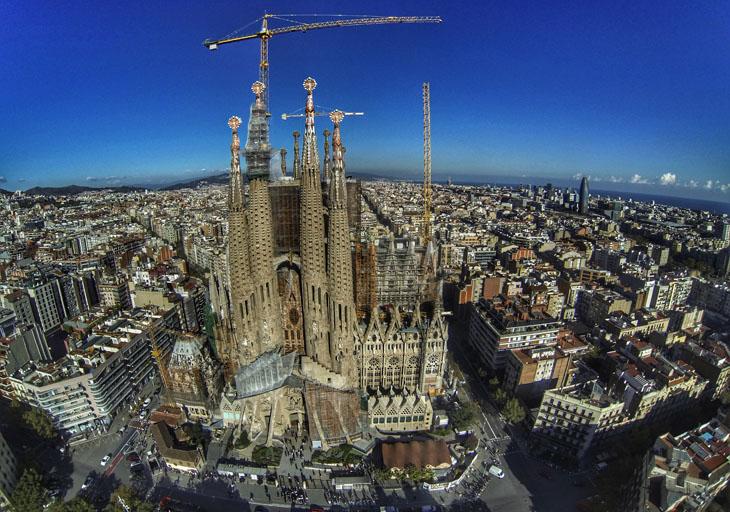 Gaudí Sagrada Familia. Fantastic catedral.