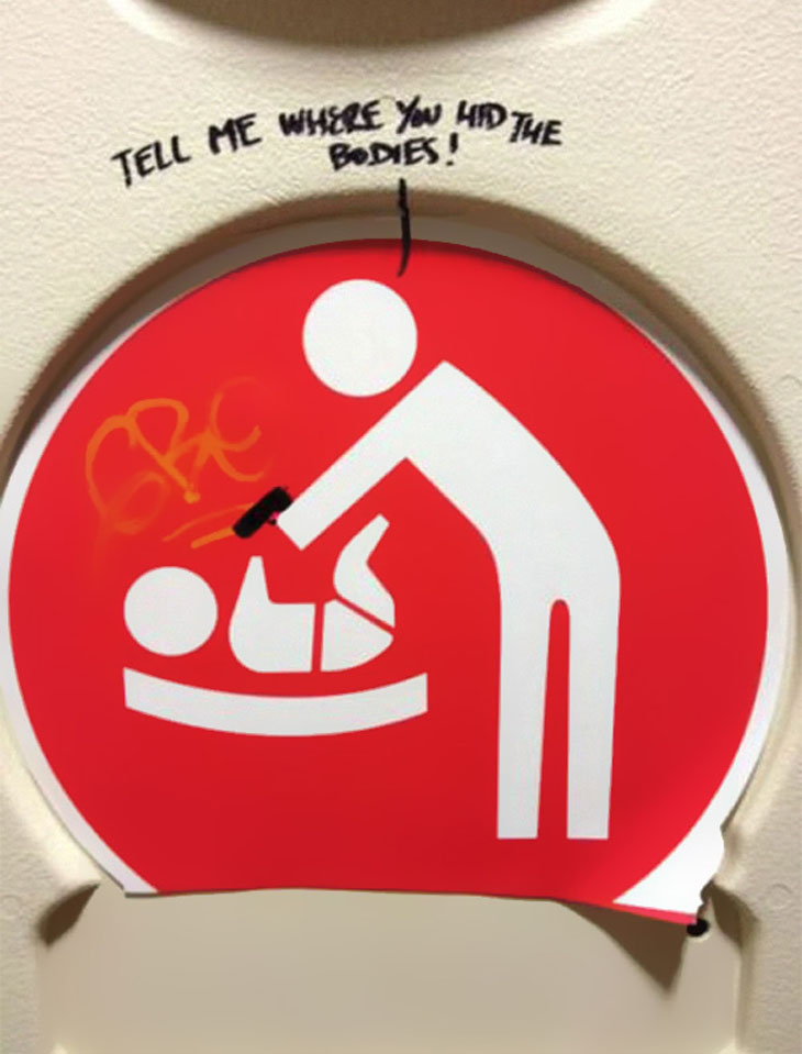 This Baby Changing Sign