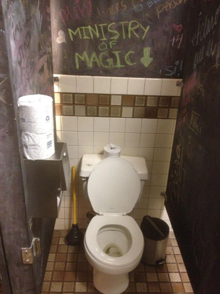 My Best Piece Of Bathroom Wall Graffiti Yet