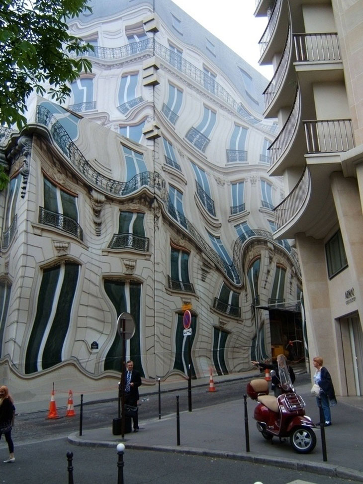 This is an actual building
