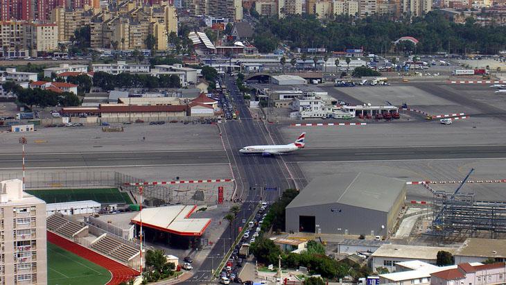 The Gibraltar International Airport