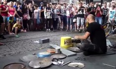 He Gathered A Pile Of Scrap Metal And Shocked The Entire Crowd.