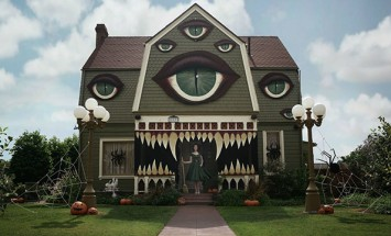 What She Did With Her House Will Make You Forget EVERY Horror Movie Set You've Ever Seen.