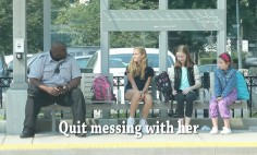 Watch People's Reaction When This Little Girl Was Being Cruelly Bullied.