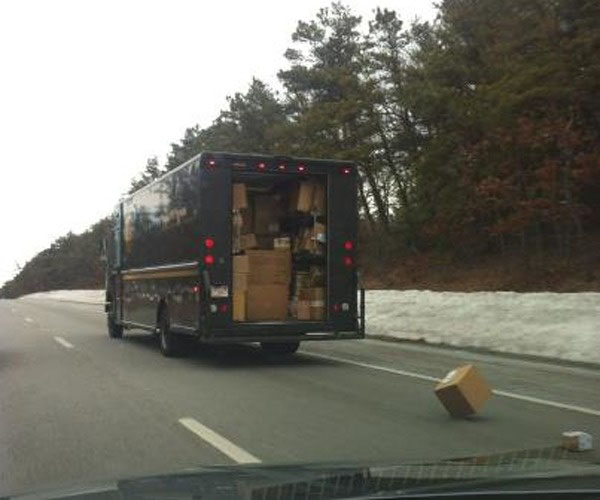The moving day that didn't go as planned.