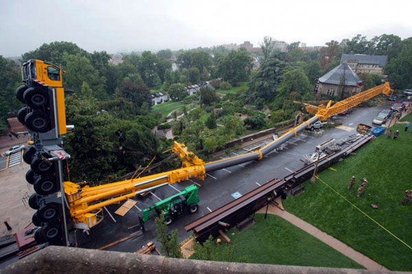 This crane operator.