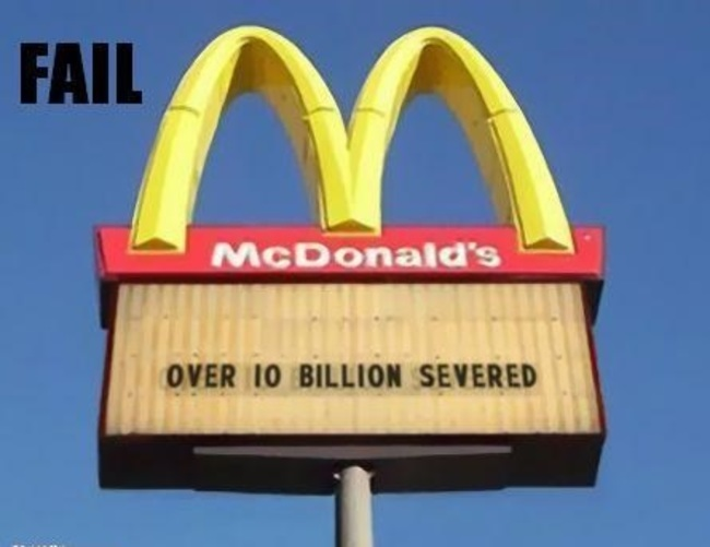 Finally the dirty truth about McDonald's came out.