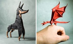 You Can't Look These Origami Paper Art Without Saying WOW! #13 Is Incredible!