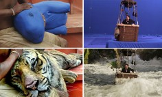 Unbelievable Pics Of Movie Scenes Before And After Visual Effects!