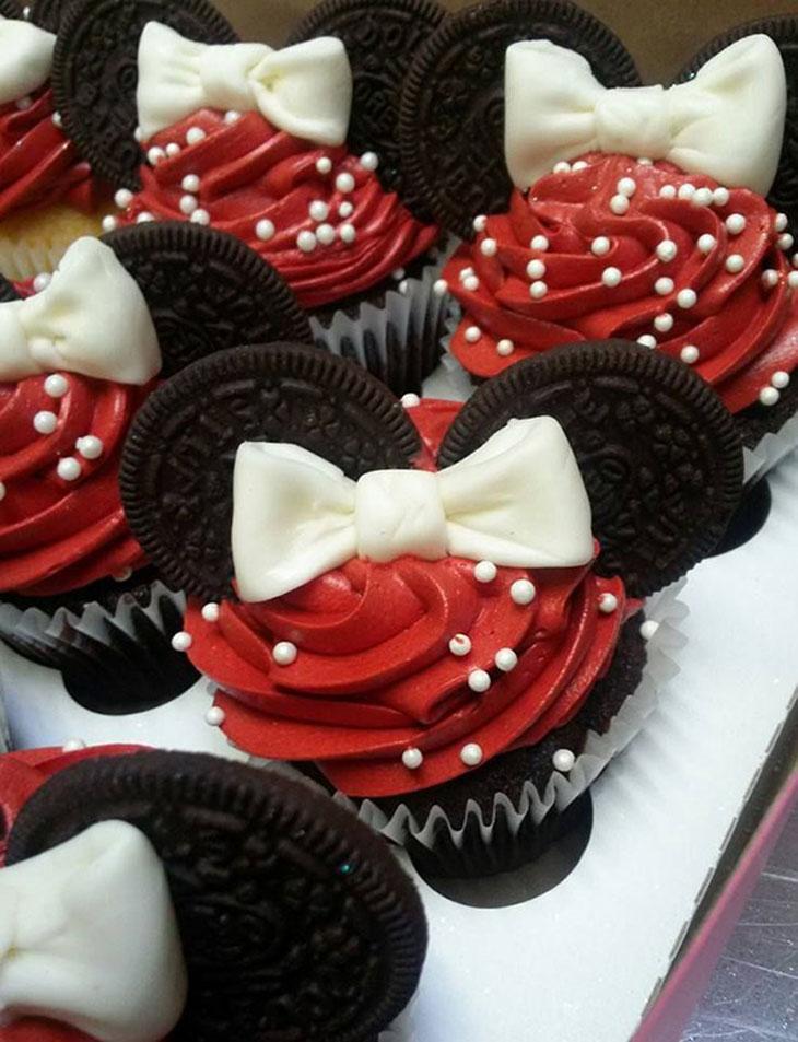 Oreo-Mini Mouse Cupcakes