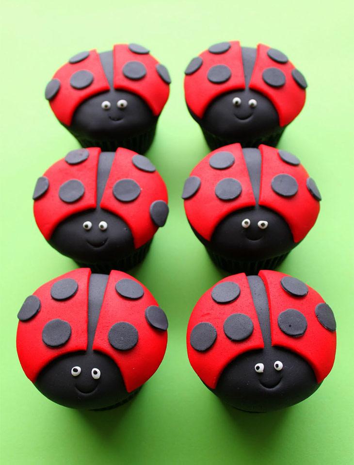 Ladybirds Cupcakes