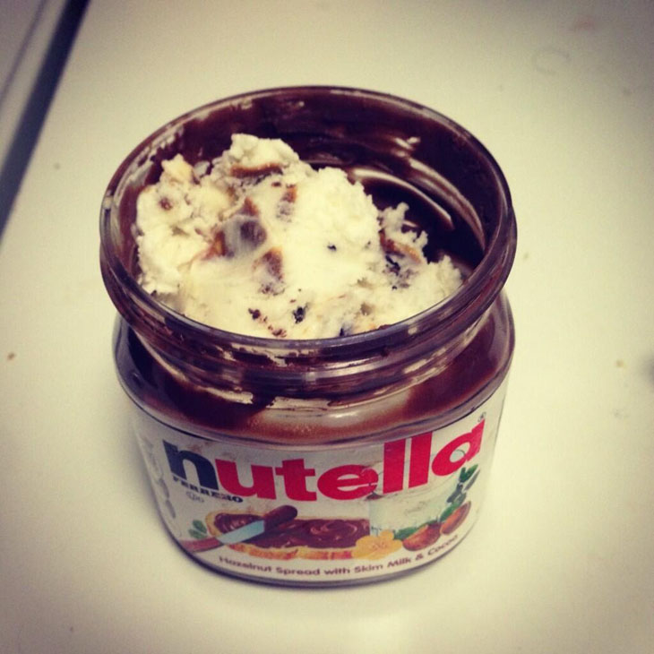 Is your Nutella jar almost empty?