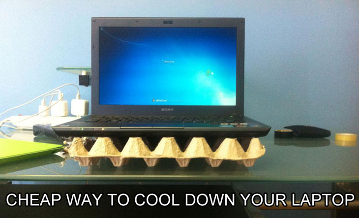 Don't have cooling pad? No problem!