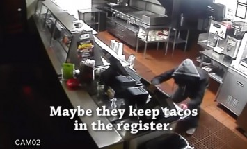 Burglars Really Need Some Tacos, But They Don't Know Who's Watching Them!