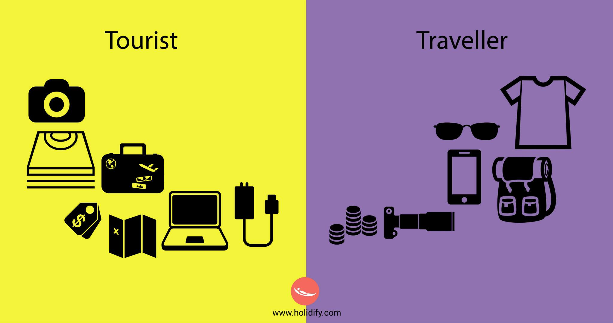 This Will Tell You The Difference Between A Tourist Or A