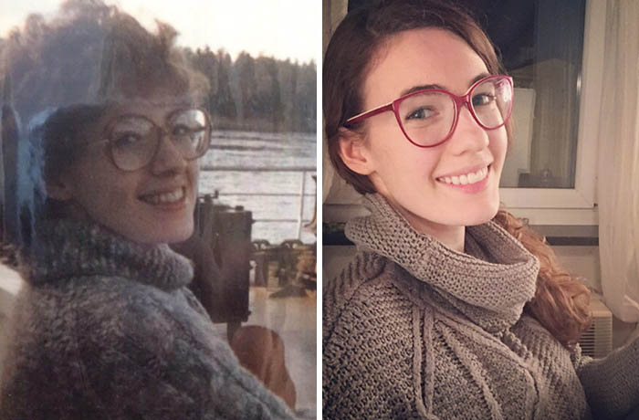 My Mother And I, Both Age 25
