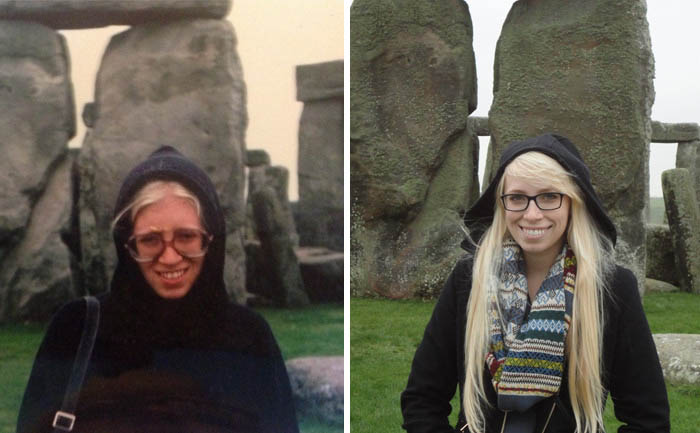 My Mom Aged 26 And Me Age 23