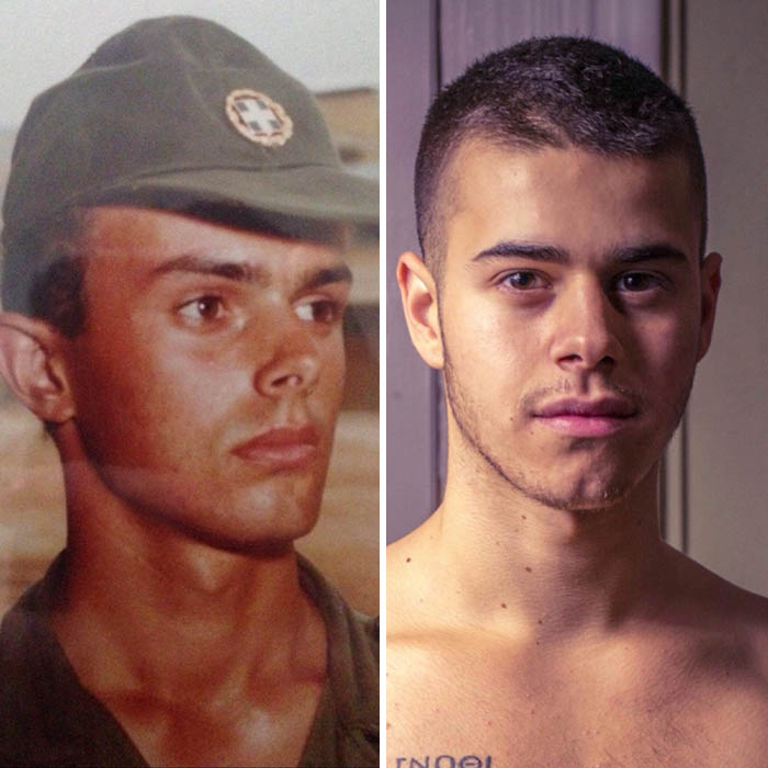 My Dad And Me At The Same Age