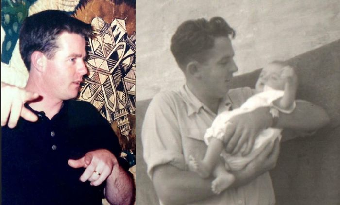 Myself And My Dad At Similar Ages