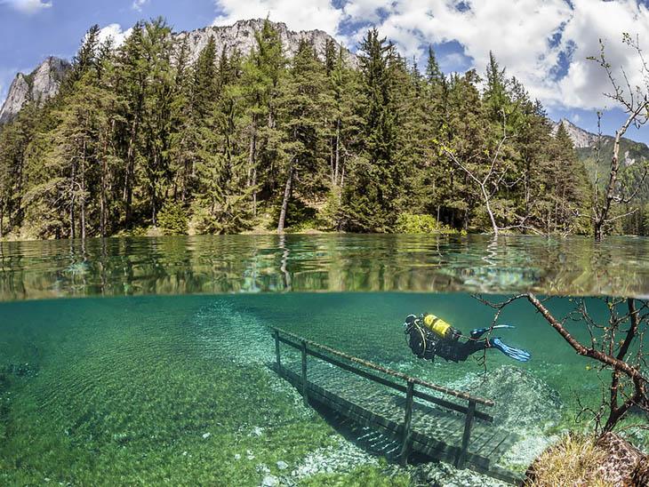 Green Lake (grüner See), Austria
