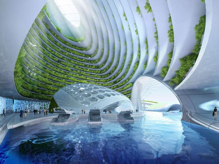 Aequorea, the floating city