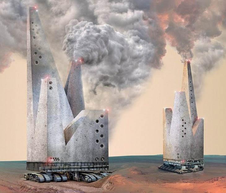 Nomad: Skyscrapers on Mars