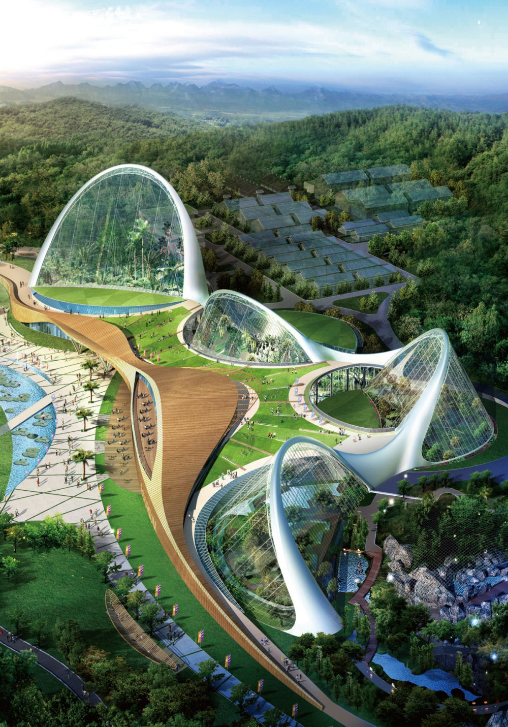 Futuristic Nature House Design: 10 Awesome Futuristic Architecture Projects You Should Know