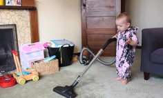 Do You Want To Have Your House Cleaned? Let Your Baby Do The Cleaning!