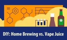 DIY: Home Brewing vs. Vape Juice