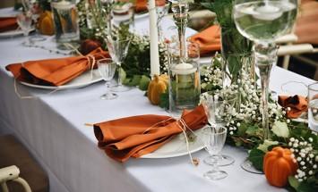 9 Fantastic Fall Wedding Color Schemes